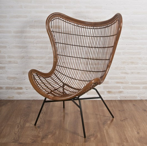 Tobias Lounge Chair Walnut