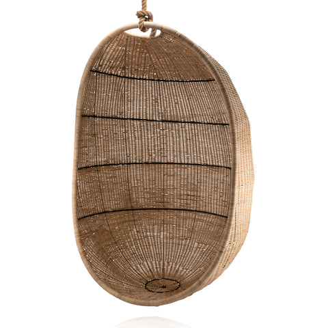 Zelma Woven Hanging Egg Chair (Natural)