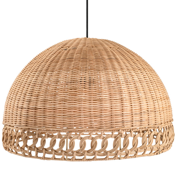 Sarah Large Natural Rattan Woven Lampshade