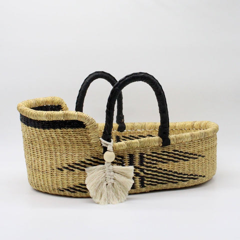 Mini Me Malaika Moses Basket for Dolls, Teddies or Toys
