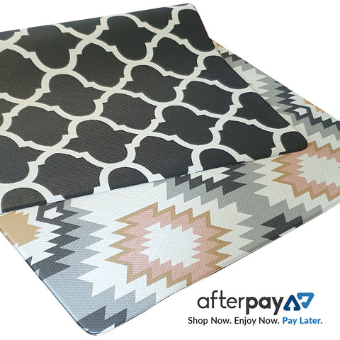 Aztec / Black & White Honeycomb