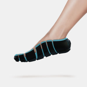 Light Blue flip-shoe