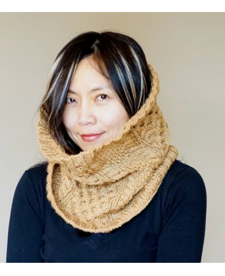 Fishermen's Wool Cabled Cowl