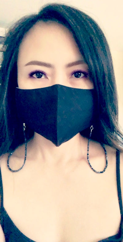 KRYSTAL Beaded Face Mask Chain