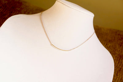 CURVED Bar Necklace, Best Selling Items, Thin Bar Necklace, Dainty Bar Minimalist Jewelry, Bridesmaid Gift Idea, Birthday Gifts For Women