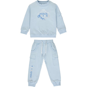 Mitch & Son Baby Blue Tracksuit