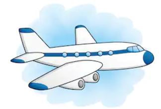 aeroplane cartoon image