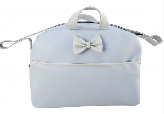 Blue/Grey changing Bag