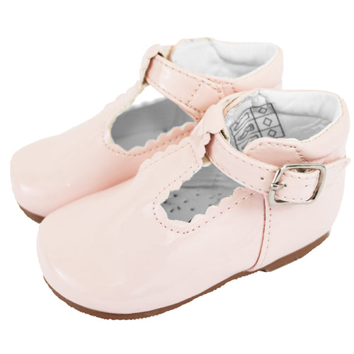 Pink Patent Baby shoes