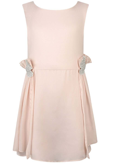 Carrement Beau Pink Chiffon Dress