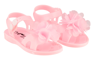 Adee Suzy Pink Jelly Sandal