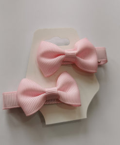 baby Pink hair bow