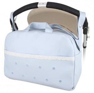 Large Blue changing bag