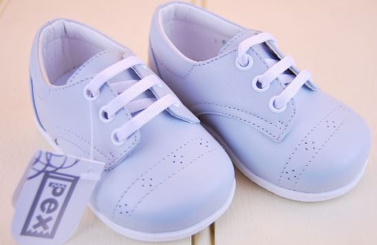 lace shoe baby blue