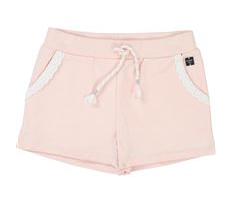 Carrement Beau Pink French Terry Shorts