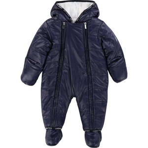 Y96041 Carrement Beau Navy Snow Suit