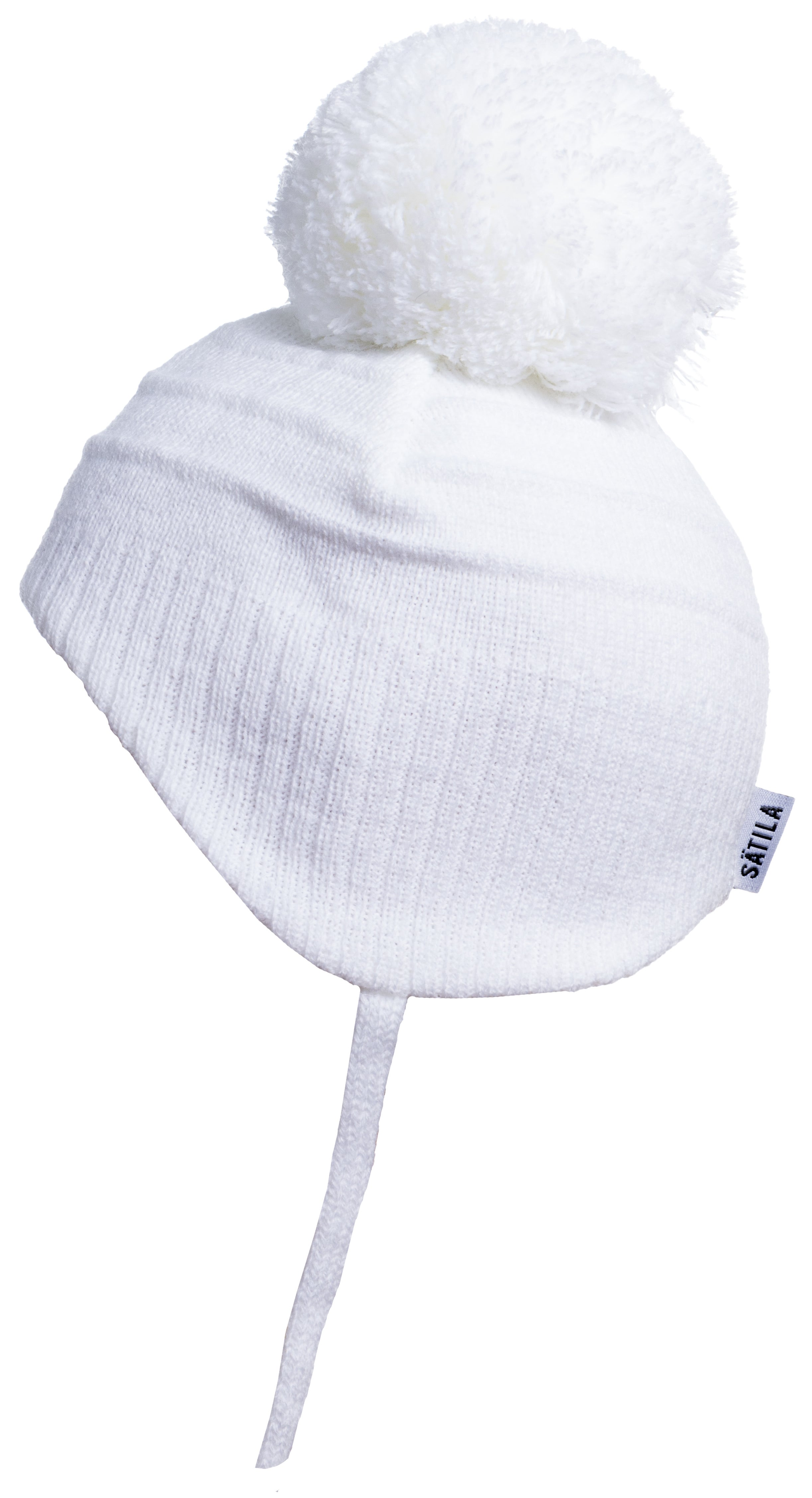 Satila Tiny White Single Pom Pom