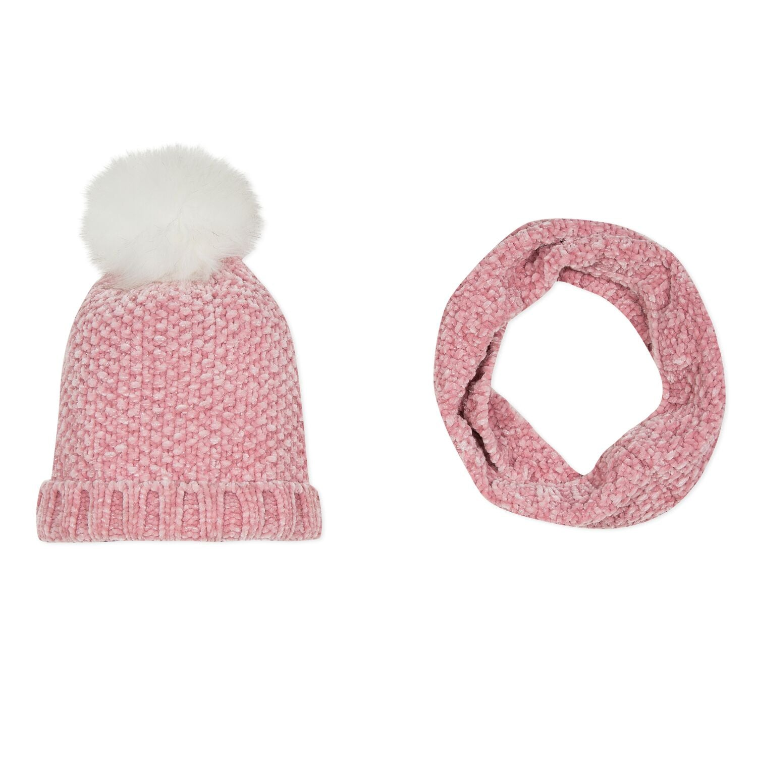 3P90014 3 Pommes Hat & Snood Set