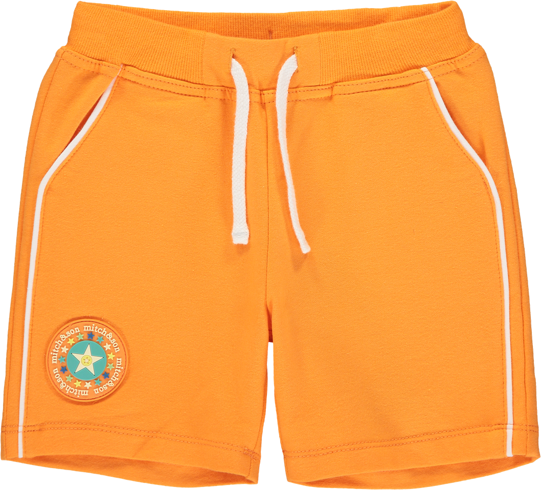 Mitch & Son Orange Aaron Shorts
