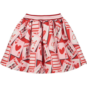 Queen Of Hearts Adee Skirt