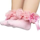 Tutu Ankle Socks pink