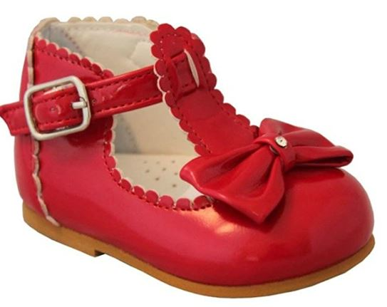 Sally Red Patent Shoe