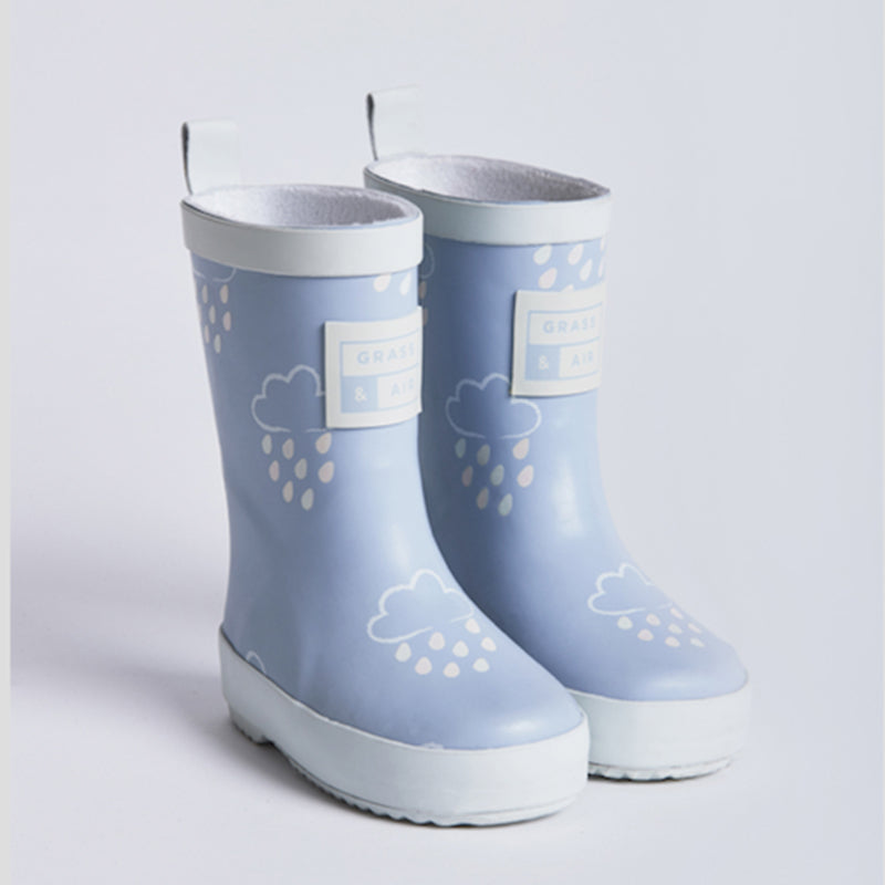 Grass & Air Blue Colour Changing Wellies