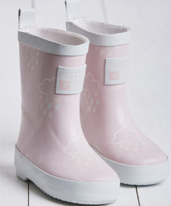 Grass & Air Pink Colour Changing Wellies