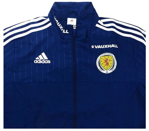 2016-17 Scotland Player Issue presentation jacket