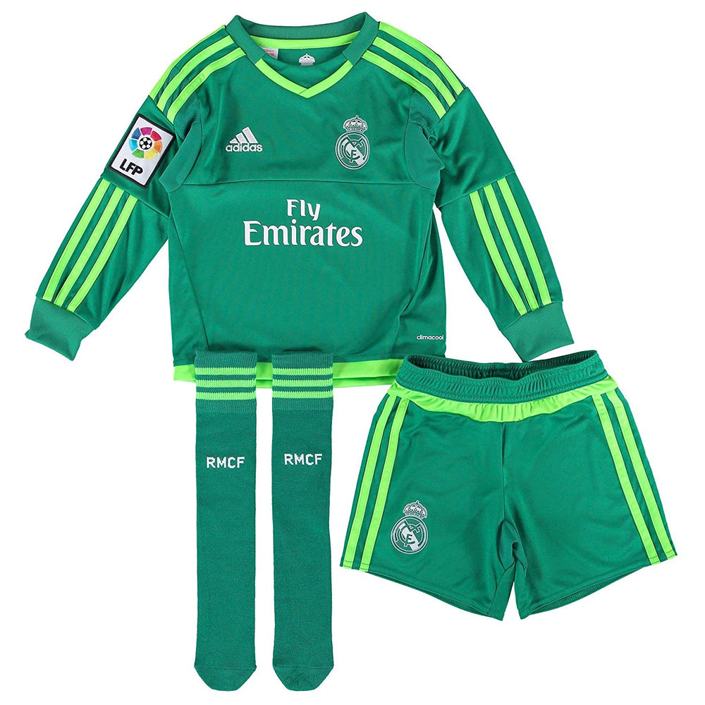 2015-2016 Real Madrid CF Away GK Full Kit