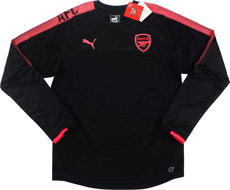 2017-18 Arsenal Puma European Training Sweat Top *BNIB*