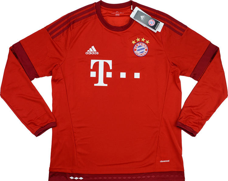 2015-16 Bayern Munich Home L/S Shirt *BNIB*