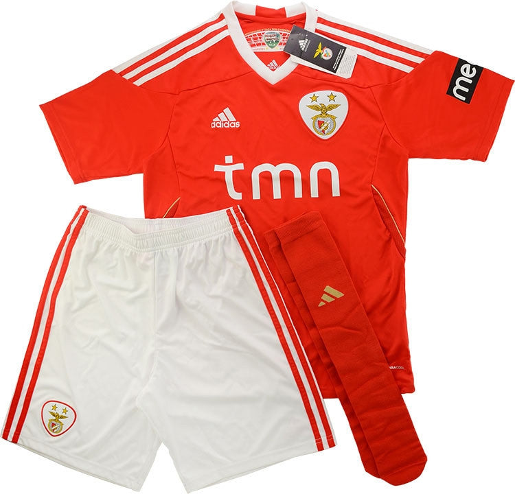 2011-12 Benfica Home Full Kit *BNIB* KIDS