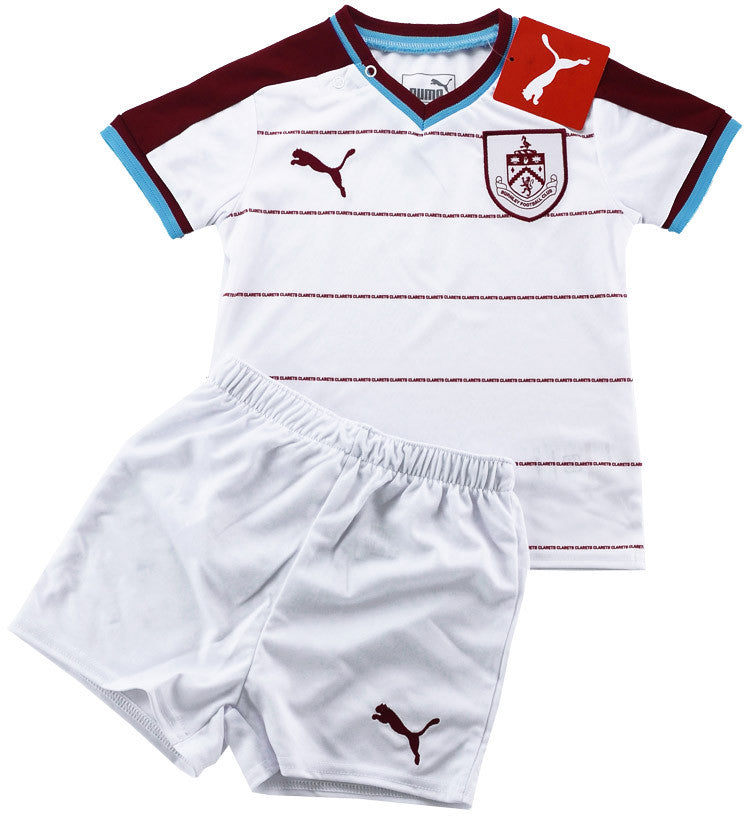 2017-18 Burnley Away Shirt & Shorts Kit *BNIB* BABY