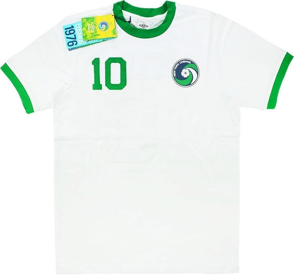 2011-12 New York Cosmos Umbro 1976 Home Shirt Pelé #10 *BNIB*