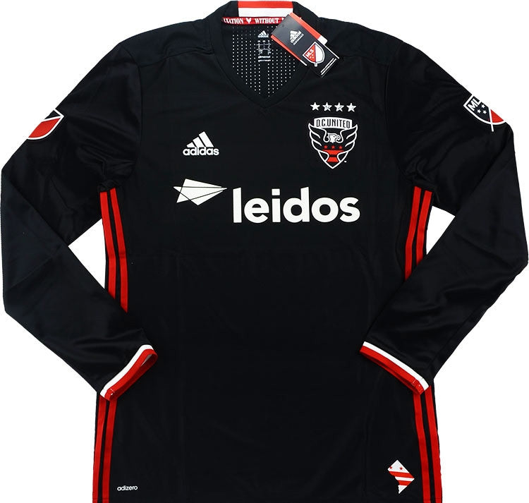 2016-17 DC United Player Issue Authentic Home L/S Shirt *BNIB*