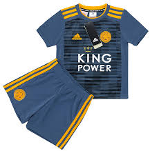 2018-19 Leicester Away Shirt & Shorts Kit KIDS