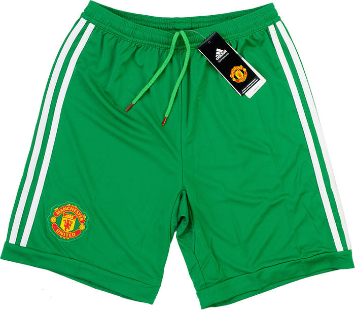 2015-16 Manchester United GK Home Shorts *BNIB* KIDS