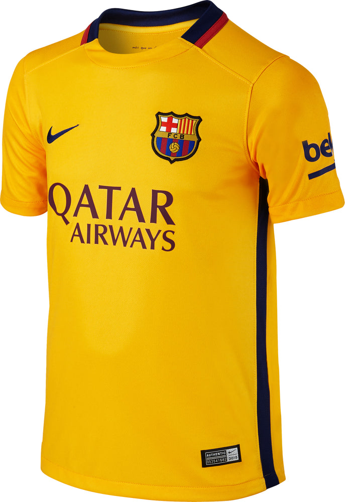 2015-16 Barcelona Away Shirt *BNIB* KIDS
