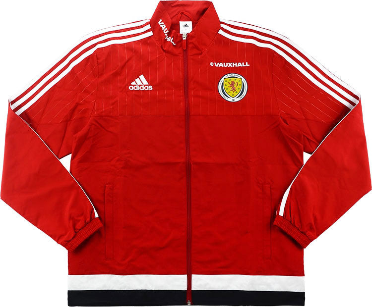 2016-17 Scotland Player Issue Woven Presentation Jacket