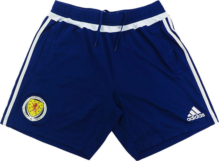 2016-17 Scotland Player Issue Adizero Training Shorts