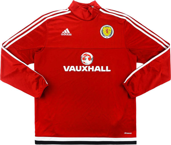 2016-17 Scotland Player Issue 1/2 Zip Training Top
