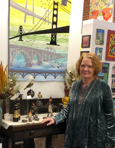 Art Connection Gallery Owner Deborah Johnson