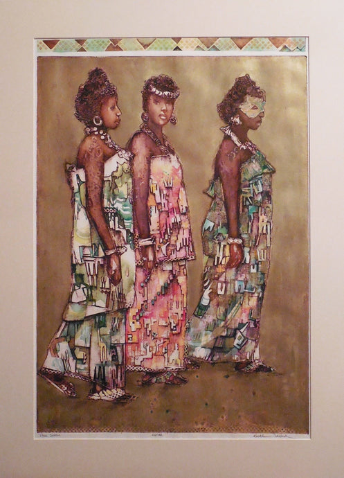 Three Sisters, original, by Kathleen Stafford