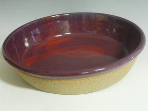 Purple bowl by Roy Brown