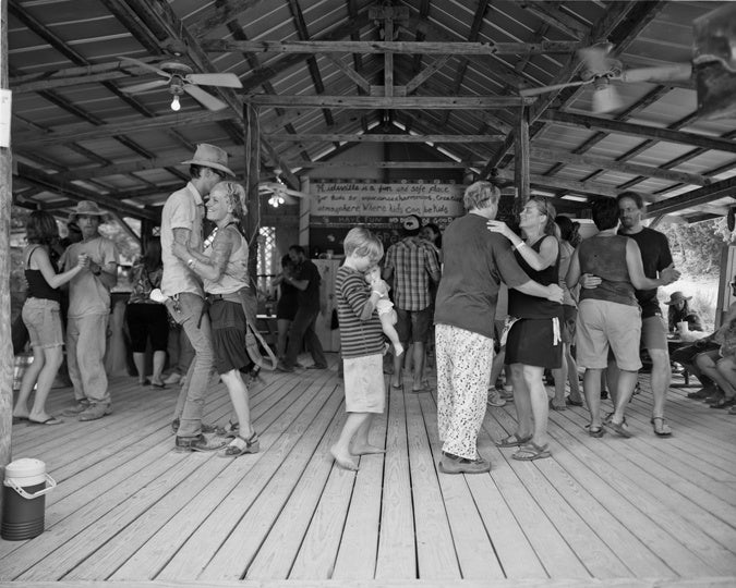 Dance Lessons at Kerrville photography by David Johnson