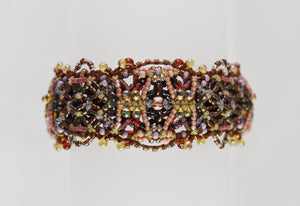 """Regency"" Double Reversible Bracelet (small) by Renate Kasper"