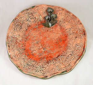 Caladium Platter by Richard Eastman
