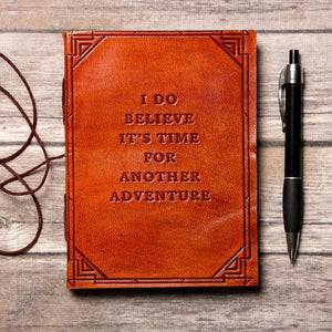 """Another Adventure"" Journal (Red/brown)  by Soothi"