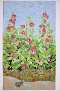 Hollyhock Walk by Sara Sharp